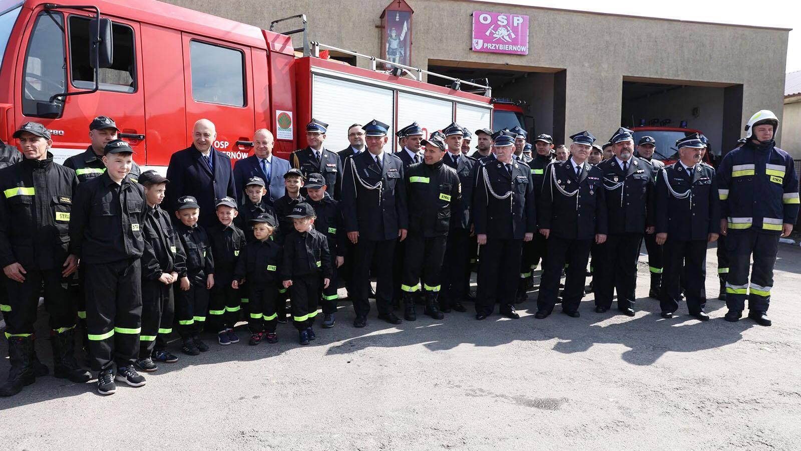 Kolejny sprzęt dla Straży Pożarnej